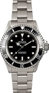Rolex Submariner 14060 Black Diver's Dial