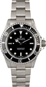Rolex Submariner 14060 Men's Stainless Steel Watch