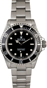 Rolex Submariner 14060 Steel Oyster