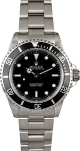 Stainless Steel Rolex Submariner 14060