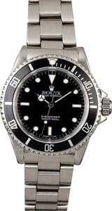 PreOwned Rolex No Date Submariner 14060