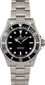 Steel Rolex Submariner 14060 No Date