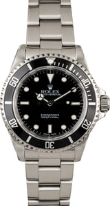 Certified Rolex Submariner 14060 Men's Watch