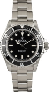 Certified PreOwned Rolex Submariner 14060 No Date Model