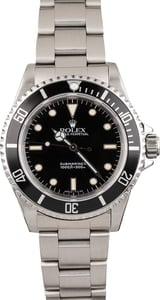 Pre Owned Rolex Submariner 14060 Steel Bezel