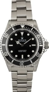 Pre-Owned Rolex Submariner 14060 Black Dial Steel Oyster