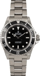 PreOwned Rolex Submariner 14060M Timing Bezel