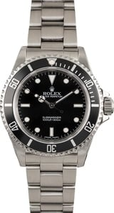 PreOwned Rolex Submariner 14060 Timing Bezel