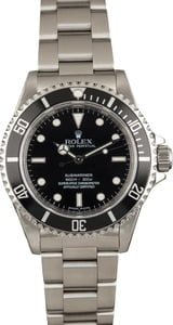 Pre-Owned Rolex Submariner 14060 Black Luminous Dial