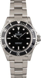 Rolex Submariner 14060 Black Timing Bezel