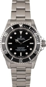 Used Rolex Submariner 14060 Serial Engraved