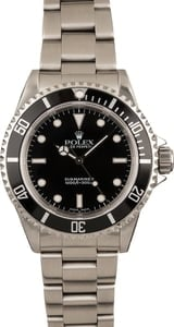 Rolex Submariner No Date Ref 14060