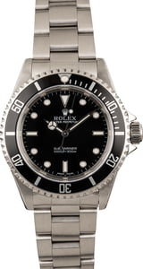 Used Rolex Submariner 14060 Luminous Markers