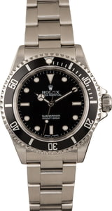 Pre-Owned Rolex Submariner 14060 Steel Watch