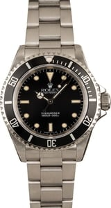 Pre-Owned Rolex Submariner 14060 Steel Men's Watch