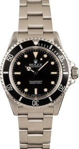 Used Rolex Submariner 14060 Timing Bezel