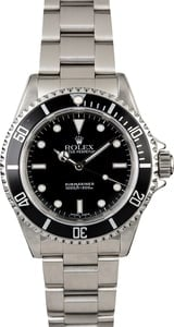 Pre-Owned Rolex Submariner 14060 No Date