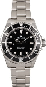 Used Rolex Submariner 14060 Black Timing Bezel