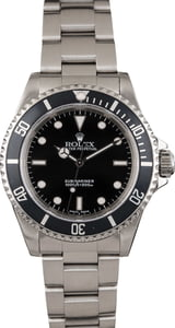 Pre Owned Rolex Submariner 14060 Steel Oyster
