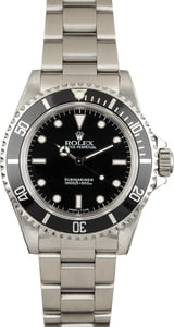 Used Rolex Submariner 14060 Stainless Steel