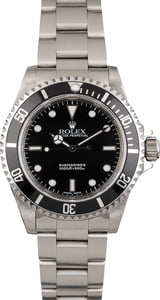 Pre Owned Rolex Submariner 14060 Luminous Markers