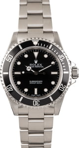 Pre Owned Rolex Submariner 14060 Black Bezel