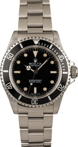 Used Rolex Submariner 14060 No Date Dial T