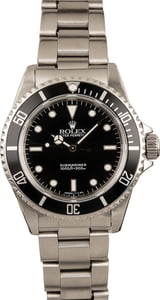 Used Rolex Submariner 14060 Black Dial Model T