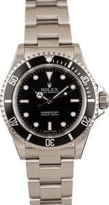Pre-Owned Rolex Submariner 14060 Luminous Watch