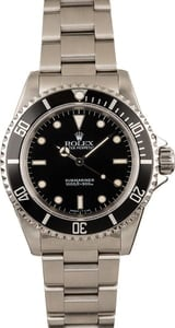 Pre-Owned Rolex Submariner 14060 Diving Bezel