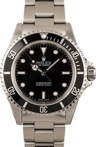 Rolex Submariner 14060M No Date, Used