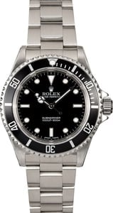 PreOwned Rolex Submariner 14060M Stainless Steel