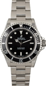 PreOwned Rolex Submariner 14060M No Date