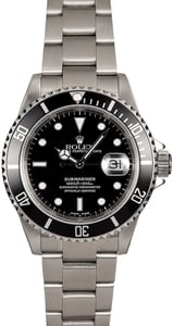 Rolex Submariner 16610 Men's Dive Watch