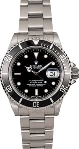 Men's Rolex Submariner 16610 Steel Oyster