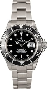 Rolex Submariner 16610 Certified PreOwned