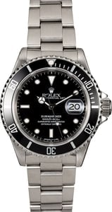 Rolex Submariner 16610 Black Dial Dive Watch