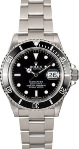 Rolex Submariner 16610 Steel Oyster Certified PreOwned