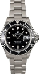 Rolex Submariner 16610 Steel Oyster Men's Watch