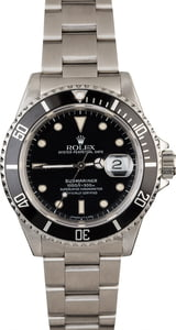 Rolex Submariner 16610 Stainless Steel 40mm