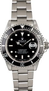 Rolex Submariner 16610 Stainless Steel Band