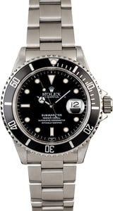 Men's Rolex Submariner 16610 Oyster Perpetual