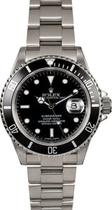 Pre-Owned Rolex Submariner 16610 Oyster Perpetual Date