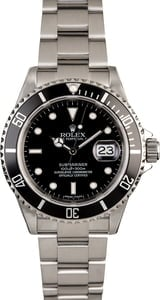 Men's Rolex Submariner 16610 Date