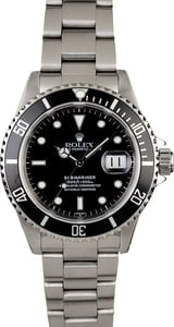 Rolex Submariner 16610 Oyster Perpetual Men's Watch