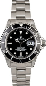 Rolex Submariner 16610 Certified Men's Watch