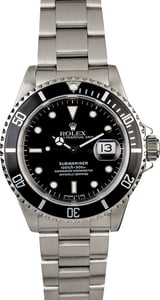 Rolex Submariner 16610 Stainless Steel Watch