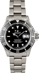 Certified PreOwned Rolex Submariner 16610