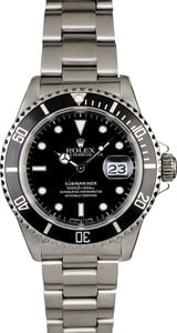 Men's PreOwned Rolex Submariner 16610 Oyster Band