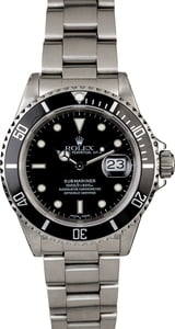 Men's Rolex Submariner 16610 Oyster Band